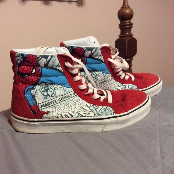 Vans Shoes | Limited Edition Spiderman
